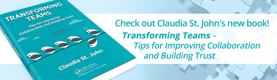 Claudia St. John's Transforming Teams